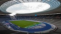 Olympijský stadión v Berlíně.
