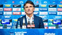 Hertha BSC představila na tiskové konferenci nového kouče - je jím Bruno Labbadia.