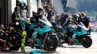 Stáj Petronas Yamaha SRT (archivní foto).