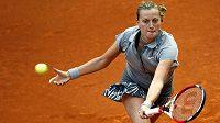 Petra Kvitová si v Madridu zahraje o čtvrtfinále proti své kamarádce Lucii Šafářové.