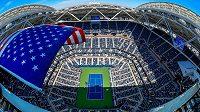 Dějiště tenisového US Open.