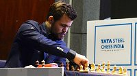 Norský šachista Magnus Carlsen.