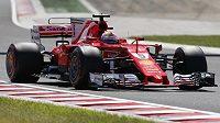 Německý pilot a lídr šampionátu Sebastian Vettel z Ferrari vyhrál kvalifikaci na Velkou cenu Maďarska.