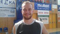 Basketbalista Ondřej Šiška.