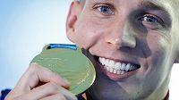 Prvním plavcem v historii, který vybojoval na jednom světovém šampionátu osm medailí, se v Kwangdžu stal Caeleb Dressel.