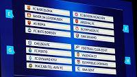 Los základních skupin fotbalové Ligy mistrů.