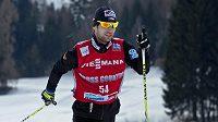 Český běžec na lyžích Dušan Kožíšek.