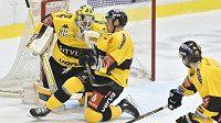 Hokejisté Litvínova bojují o body proti Liberci
