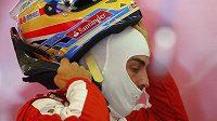 Fernando Alonso během víkednu na Hungaroringu.