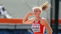 Spokojená výškařka Michaela Hrubá po kvalifikaci mistrovství Evropy.