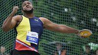 Jamajský diskař Travis Smikle vyhrál atletický mítink Memoriálu Ludvíka Daňka.