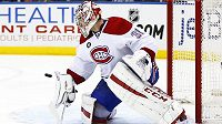 Carey Price, brankář Montrealu Canadiens.