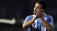 Argentinský útočník Gonzalo Higuaín.