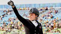 Jezdkyně Anastasja Vištalová bude reprezentovat Českou republiku v paradrezuře na Světových jezdeckých hrách.