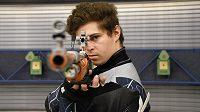 Puškař Filip Nepejchal vyhrál na SP v Pekingu soutěž ve střelbě ze vzduchové pušky.