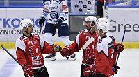 Přípravný hokejový zápas: HC Vítkovice Ridera - HC Dynamo Pardubice. Ilustrační foto.
