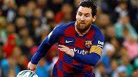 Klenot Barcelony Lionel Messi v akci.