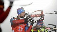 Rus Dmitrij Malyško vyhrál sprint na biatlonovém Světovém poháru v Oberhofu.