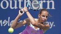 Karolína Plíšková na turnaji v Cincinnati dohrála v singlu už ve 2. kole.