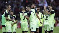 Hráči Plzně po prohře s Olympiakosem. Liga mistrů je pryč!