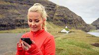 S telefonem může být při běhání trochu potíž.