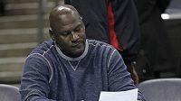 Bývalá basketbalová hvězda Michael Jordan.