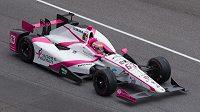 Pippa Mannová během závodů IndyCar.