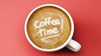 Coffee time. Je čas na další šálek.