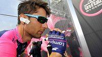 Italský cyklista Diego Ulissi na letošním Giru d´Italia.