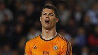 Rozmrzelý Cristiano Ronaldo