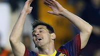 Gesto zmaru. Lionel Messi byl ve finále Španělského poháru skoro neviditelný.