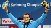 Plavecký světový rekordman Markus Deibler z Německa.