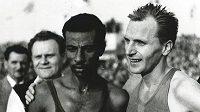 Pavel Kantorek patřil ke světové špičce. Na snímku s Abebe Bikilou.
