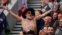 Fanoušci Tottenhamu Hotspur během ligového utkání proti Chelsea. Ilustrační foto