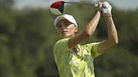 Golfistka Klára Spilková na OH v Riu.