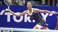 Karolína Plíšková vstup do turnaje zvládla skvěle