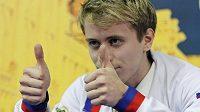 Michal Březina byl po volné jízdě na ME v Záhřebu spokojený. Získal bronz.