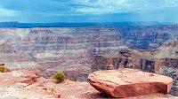 Je jasné, že Grand Canyon rim-to-rim bude chvílemi opravdu hodně do kopce.