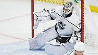 Peter Budaj v brance Los Angeles Kings