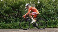 Nizozemský cyklista Robbert de Greef.