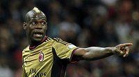 Mario Balotelli bude v příští sezóně se svým AC Milán bojovat o Ligu mistrů