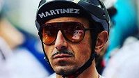 Olympijský vítěz a mistr světa v závodech horských kol z roku 2000 Francouz Miguel Martinez