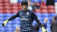 Petr Čech z Arsenalu