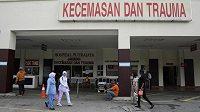 Nemocnice Putrajaya, kde skončil první hráč světového žebříčku badmintonistů Kento Momota.