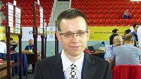 David Navara na otevřeném šachovém MČR v Ostravě.