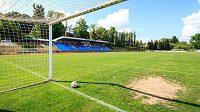 Fotbalisté Varnsdorfu nebudou hrát první ligu. Severočeský klub v uplynulém ročníku druhé nejvyšší soutěže skončil na postupovém druhém místě, ale po jednání s FAČR se vzdal účasti hlavně kvůli nevyhovujícímu stadiónu (na archivním snímku z 24. května 2015).