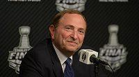 Komisionář NHL Gary Bettman