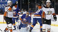 Český útočník Ondřej Kaše si před návratem do sestavy Anaheimu Ducks půjde rozehrát na farmu