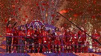 Radost fotbalistů Liverpoolu.