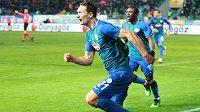 Milan Škoda se při ligové premiéře v Turecku mohl radovat ze dvou vstřelených gólů. Svému Rizesporu zajistil vítězství.
